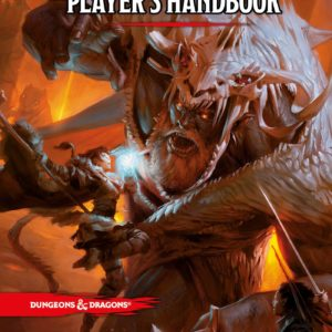 Dungeons & Dragons Player's Handbook 5th ed, front