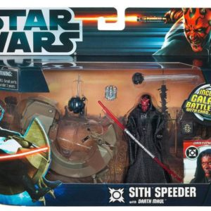 Star Wars Darth Maul with Speeder